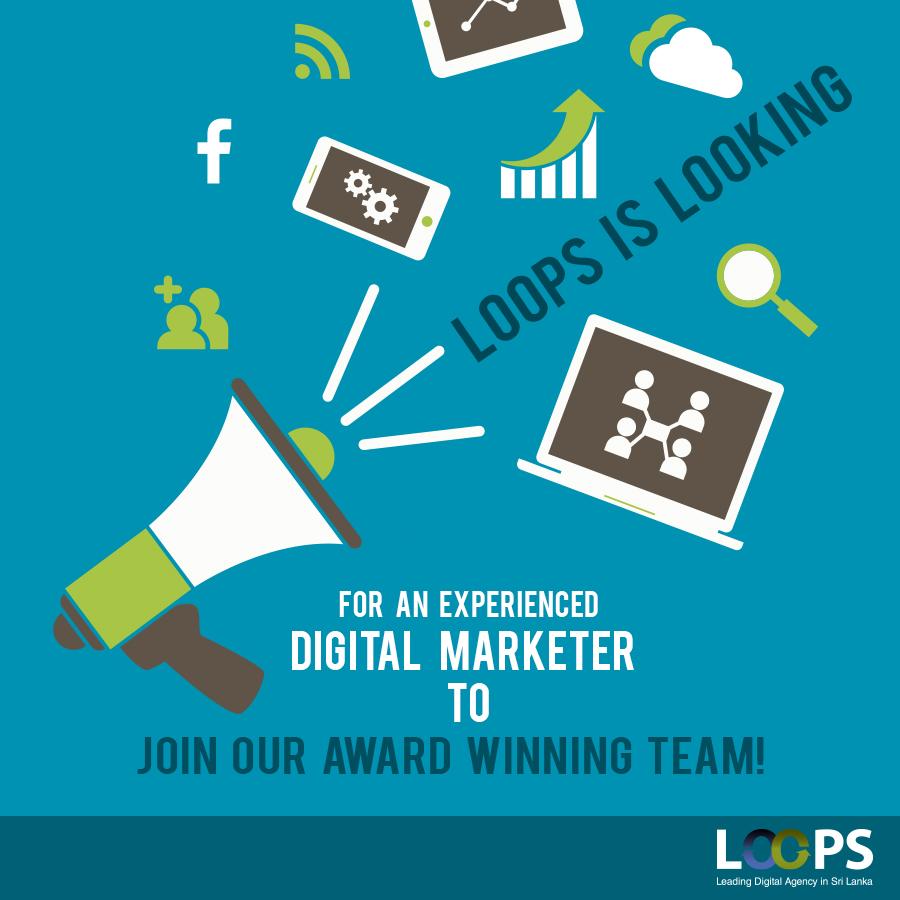 digital marketer vacancy